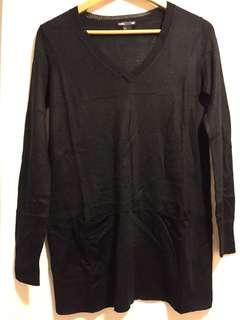 H&M basic v neck sweater V領針織衫