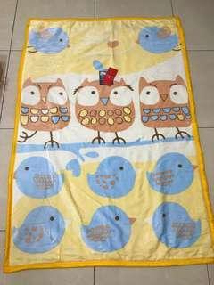 🚚 全新現貨 MONTAGUT 法國夢特嬌 雙層法蘭童毯 法蘭絨雙層蛋糕童毯 兒童毛毯  彌月禮盒