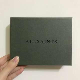英國ALL SAINTS正品 紙盒/禮物盒/收納盒