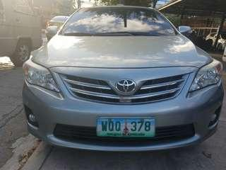 2013 Toyota Altis 1.6 V top of the line AT