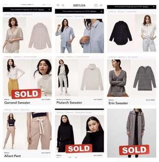 Aritzia Wardrobe on Sale