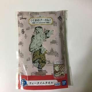 Japan Tokyo Disney Winnie The Pooh 小熊維尼 一番抽 毛巾 豬仔