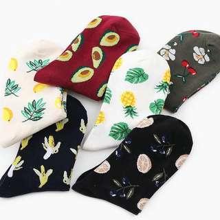 (PO) Men & Women Long Socks with Printed Designs