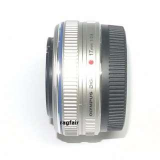 送順豐智能櫃 Olympus M.ZUIKO DIGITAL 17mm f2.8銀色超廣角定焦鏡頭 Panasonic GX85 GF7 GF8 GF9 E-PL7 EPL8 E-PL6 EPL1 EM10 EM5 EPL2 E-PL3