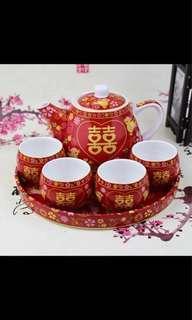 結婚 婚禮茶杯套裝