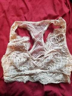 2/30 2/20 VICTORIA SECRET BRALETTE /CROP S.SMALL