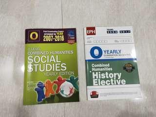 O Level Combined Humanities (SS+Elective History)