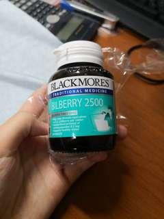 Blackmores Eye Supplementary Eye Dried Bilberry 2500