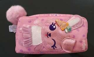 Pencil Case Smiggle Fiffy Character Two Pocket - Tempat Pensil Smiggle