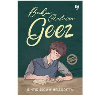 Ebook Buku Rahasia Geez - Rintik Sedu