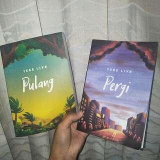Novel Tere Liye - Pergi & Pulang ( dapat 2 )