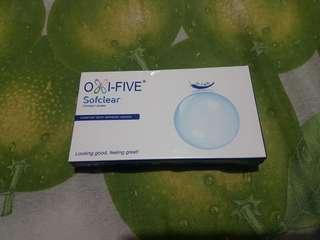 Soflens Oxi-Five Bening Bulanan Min 1.25
