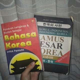 Buku Belajar Bahasa Korea