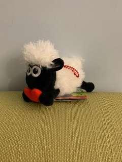 綿羊公仔吊飾