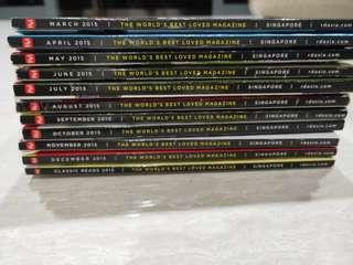 Readers Digest(11 books)