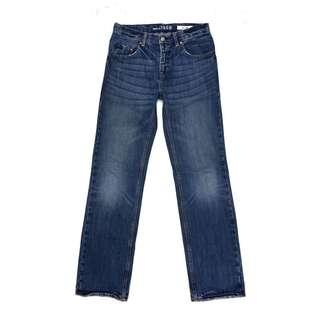 Gap Kinds Reguler Fit Straight In Blue Wased