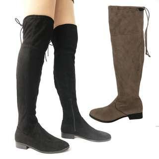 Long Boots 👢 suede shoes elastic women's winter fashion 女長靴 冬天鞋 SB120#