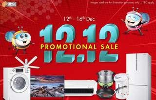 🗓 12.12 once in a year Promotional Sale ‼️