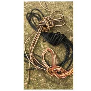 Leather Boot Laces