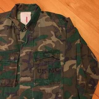 Camo usmc vietnam vintage jacket us army p44 hbt rrl buzz