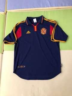 2000年西班牙作客波衫