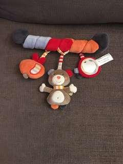 Like-new NUK baby toy for stroller and baby cot