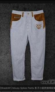 🚚 #1212 Stayreal Mousey Splice Pants Shadow