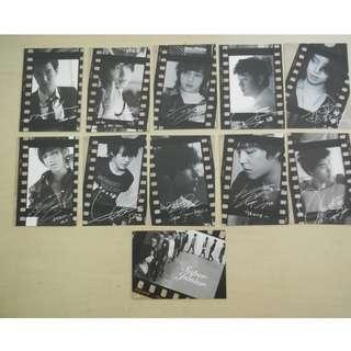 [LAST 1][CRAZY DEAL 90% OFF FROM ORIGINAL PRICE][READY STOCK]SUPER JUNIOR KOREA OFFICIAL STAR CARD 11PC=RM2 ;ORIGINAL & OFFICIAL FROM KOREA.PRICE NOT INCLUDE POSTAGE; POSLAJU:PENINSULAR AREA :RM10/SABAH SARAWAK AREA: RM15