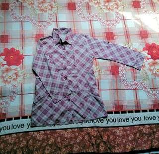 Plaid long sleeves   #PrelovedWithLove