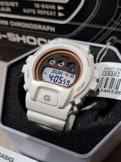*ORIGINAL* Casio G-Shock Watch GMD-S6900MC-7DR (White/Rose Gold)