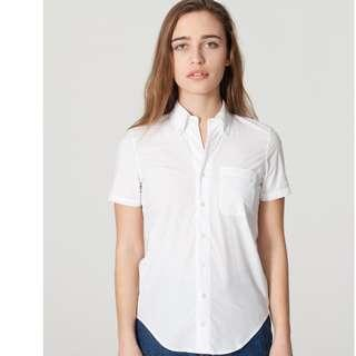 Original American Apparel Short Sleeve Button Up