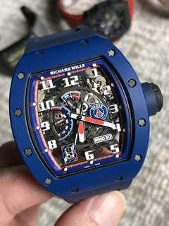RM030 PSG Limited100  Blue Ceramic