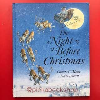 [RARE] THE NIGHT BEFORE CHRISTMAS  - Clement Clarke Moore - Illustrated by Angela Barrett