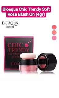Bioaqua Chic Trendy Soft Rose Blush On