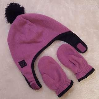 Winter Gloves and Hat