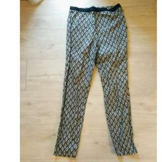 Forever21 High Waisted Patterned Pants (from the good old days, when quality was good)