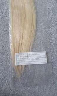 "Beautiful blonde 24"" hair extensions"