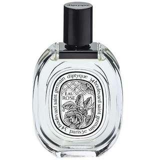 parfum diptyque eau rose for woman original non box