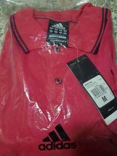 Adidas Polo Tee Pink/Rose