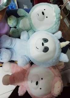 We Bare Bear Plush (PO)
