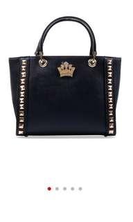 New Les Catino Bag Tas Hitam Handbag