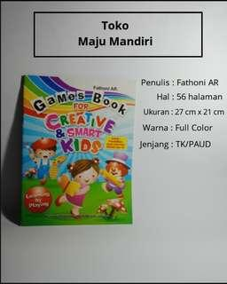 Games book for creative kids
