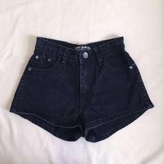 Black High Waisted Shorts Bundle