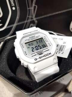 *ORIGINAL* Casio G-Shock Watch Marine White Series DW-5600MW-7DR