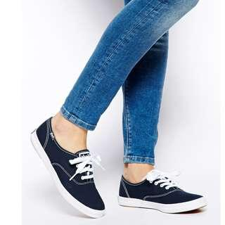 Black Keds Size 7