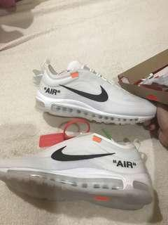 Nike Air Max 97 OG Off white the ten size 11.5