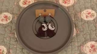 韓系吊飾耳環