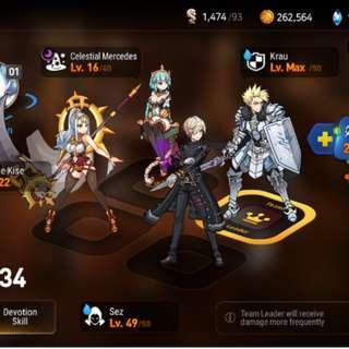 Epic Seven (Kise,ML Mecedes, Krau)