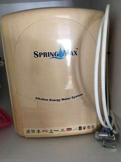 Spring Max Water Filter - Alkaline Energy Water System #MY1212