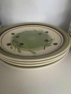 New Tabletops Avenue Napoli Lunch Set - 4 bowls, 4 small plates, 4 lunch plates #MY1212